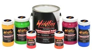 Modern Masters WF146 1 qt. Deep Blue Fluorescent Wildfire Paint by Modern