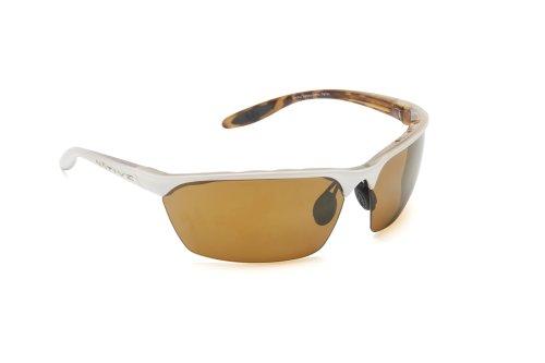 Native Eyewear Sprint Sunglasses, Sahara Snow with Bronze Reflex (Brown) - Sunglass Warranty Native