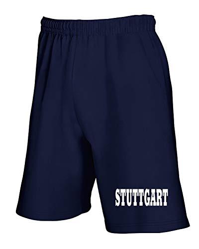 Wc0823 Pantaloncini Stuttgart City T Germany shirtshock Tuta Navy Blu qg5qnwRFz