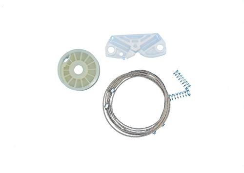 Danci Parts Compatible Replacement Part for Right Rear Quarter Window Regulator Kit For Mercedes CLK C209/A209 & 2002-2009