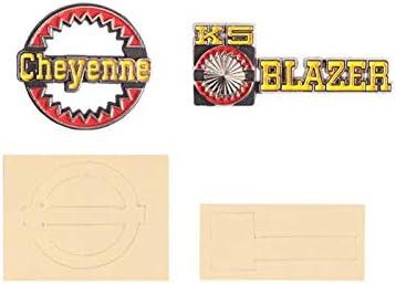 GPM R/C Scale Accessories : Decor Mini Logo For Traxxas ...