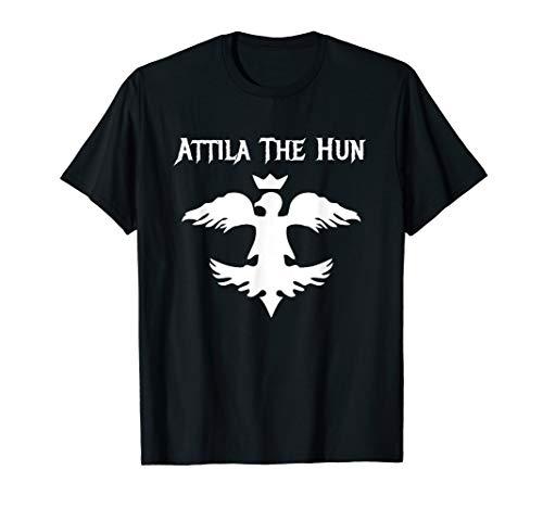 Attila The Hun Barbarian Warrior Lord Rock Metal T-Shirt