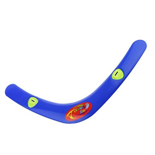 MagiDeal Plastic Boomerang Outdoor Summer