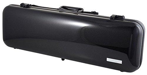 Gewa Air 2.6 Oblong 4/4 Violin Case, Metallic Black (Violin Gewa)