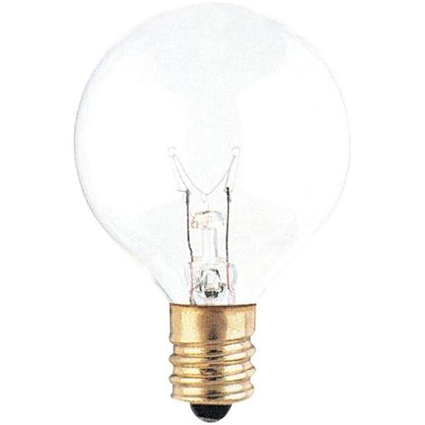 Bulbrite 40g12cl 40w G12 Globe 130v Light Bulb Clear 2 Pack Amazon Com