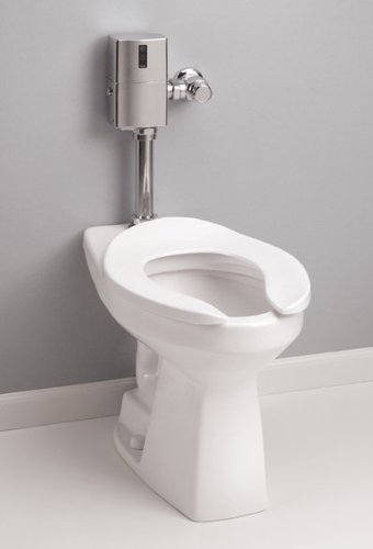 Toto CT705ELN Commercial Elongated Toilet Bowl Only for use with 1-1/2'' Top-Spud, Cotton
