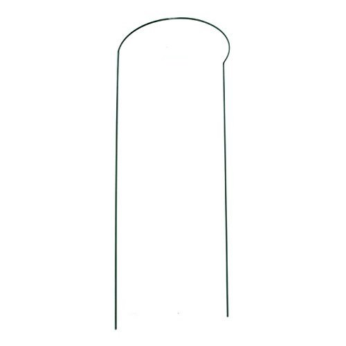 Gardman R742 Half Hoop Plant Support, 8'' Wide x 24'' High