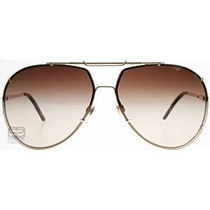 Dolce & Gabbana DG 2075 Sunglasses 034/13 Gold/Brown Gradient