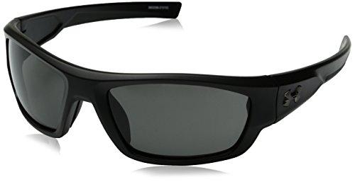 Under Armour Ua Force Oval Sunglasses, Black/Gray, 60 - Sunglasses Ua