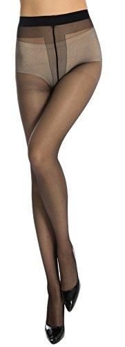 Neska Moda Women's 1 Pair Panty Hose Long Exotic Stockings Tights