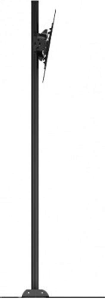 Crimson AV S55VLP Floor Stand with VESA 400 Adapter and Post-Installation Landscape to Portrait Rotation, Black, 150lb (68kg) Weight Capacity, 400x400mm Max Mounting Pattern by Crimson AV (Image #3)