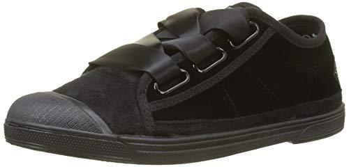Le Temps Des Cerises Basic 02 Lace, Baskets Femme Noir (velvet Black Velvet Black)