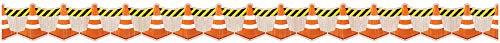 Border Under Construction Cones 35 FEET