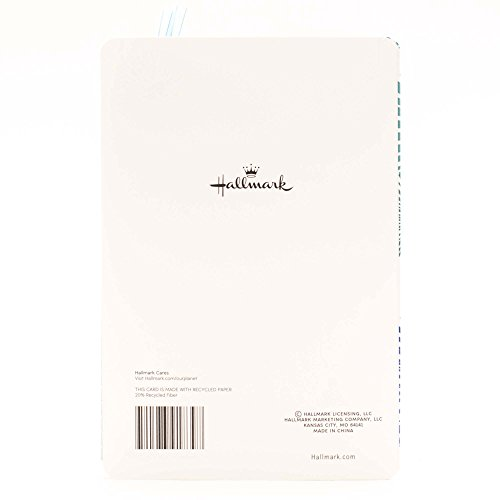 Hallmark Graduation Greeting Card with Removable Bookmark (Let your Dreams Light Your Way) Photo #3