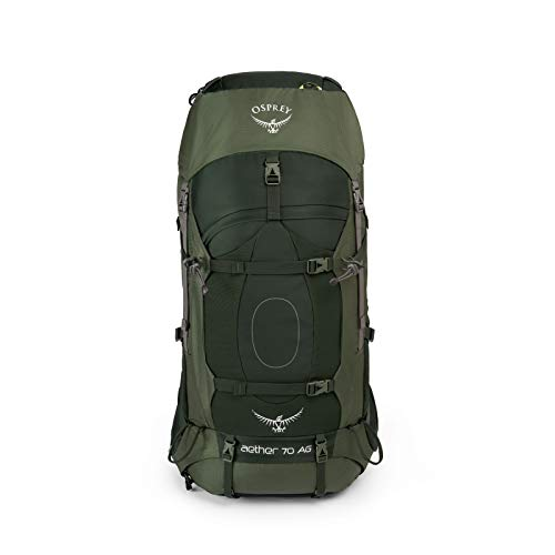 Osprey Packs Aether Ag 85 Backpack, Adriondack Green, Md, Adirondack Green, Medium
