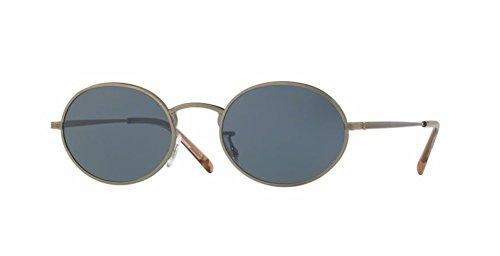 Oliver Peoples Empire Suite - Antique Gold / Blue - 1207 5039R5 - Sunglasses Empire