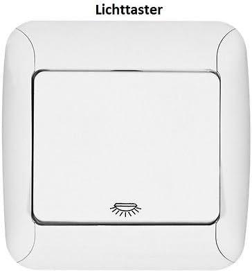 luz escalera pulsador interruptor iluminación Tiempo Interruptor Fantasy regulador: Amazon.es: Iluminación