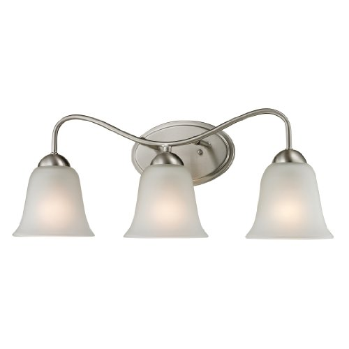 Thomas Lighting Conway 3-light Bath Bar, Brushed - Outlets Conway