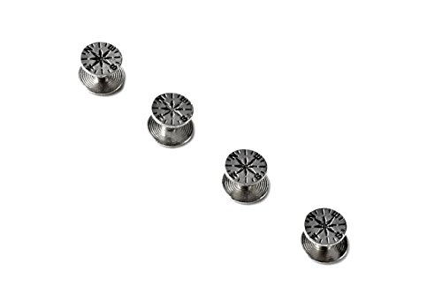 Quality Handcrafts Guaranteed Compass Tuxedo Studs by Quality Handcrafts Guaranteed (Image #1)