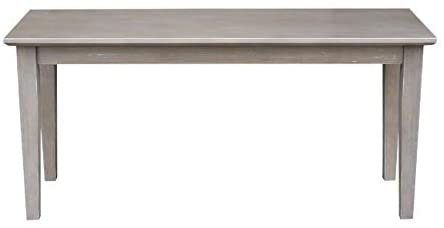 International Concepts Shaker Styled Bench