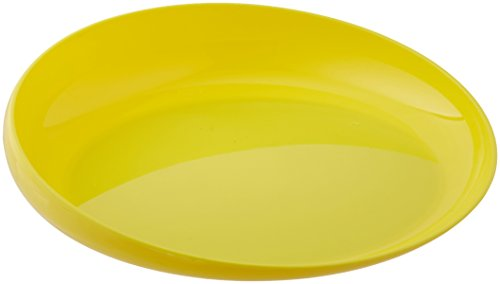 Sammons Preston Yellow Round Scoop Dish, Unbreakable 8