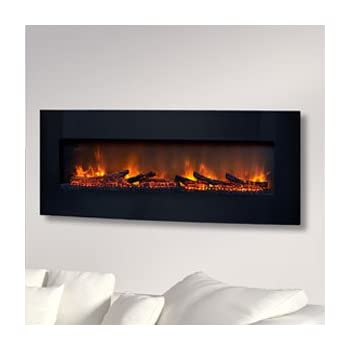 Amazon Com Classicflame 48 In Curved Black Wall Electric