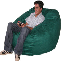 Cozy Sack Bean Bag Chair - Large 4'