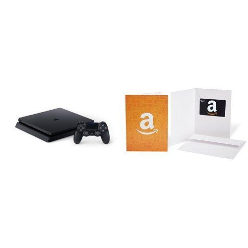 PlayStation 4 Slim 1TB Console + $50 Amazon Gift Card