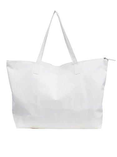 Blanc Bagbasi Sac de blanc plage qHXwATBx8
