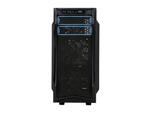 Rosewill Case Mid-tower Black - Steel - 7 x 3 x Fan Installed 0 - Micro Mini - lb 5 x Fan - 5.25 x External 3.5 -