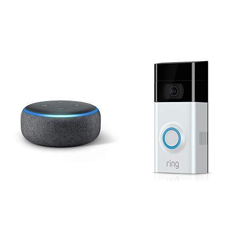 Ring Video Doorbell 2 + Free Echo Dot