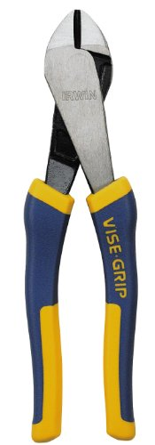 IRWIN Tools VISE-GRIP Pliers, Angled Head Diagonal, 8-inch (1773633)