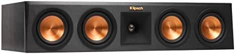 Klipsch Reference Premiere RP-440C Surround Center Channel Home Speaker, Set of 1, Ebony