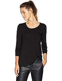 Women's Jersey Long-Sleeve Scoop-Neck Swing Shirt