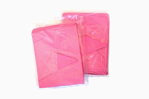 Oh Baby Bags Baby Butler Mounted Bag Dispenser Refills - 2 Pouches of 70 Count Pink Citrus Scented Recycled Disposable Plastic Bags for Dirty Diapers and Other Messes (140 Bags Total) by Oh Baby Bags