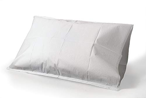 Tidi Products 919365 Tissue Poly Paper Pillow Case, White, 100 Count