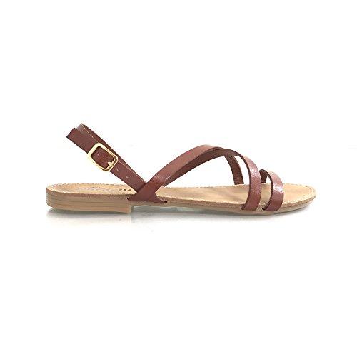 Nardelli Women's Fashion Sandals Brown Leather wVPdi