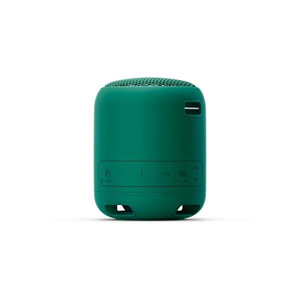 Sony SRS-XB12 Enceinte Portable Bluetooth Extra Bass Waterproof - Vert 4