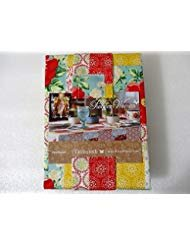The Pioneer Woman Patchwork Fabric Tablecloth 60