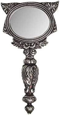 Alchemy Gothic Cat Hand Mirror