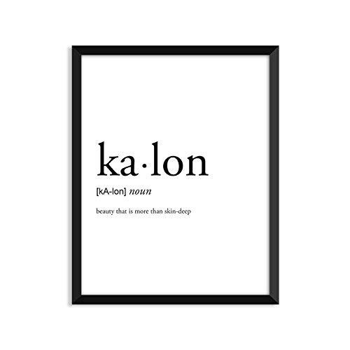 Kalon Studios - Kalon definition - Unframed art print poster or greeting card