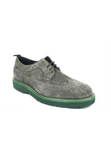 FRAU - Zapatos de cordones para hombre Gris Fumo gris