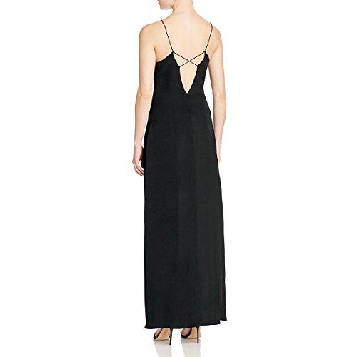 Dress Sheath Slip Candy S Back Black Cotton Womens Open wfxgqYnHU