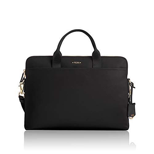 (TUMI Voyageur Joanne Laptop Briefcase - 15 Inch Computer Bag for Women,Black)