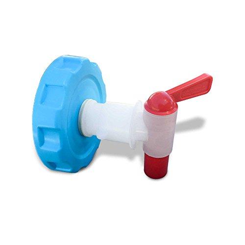 - AquaBrick Container Ventless Spigot Cap, Perfect Outdoor Beverage Dispenser Spigot for Camping, Sports, Picnics, Pets by Sagan Life (AquaSpigot Only)