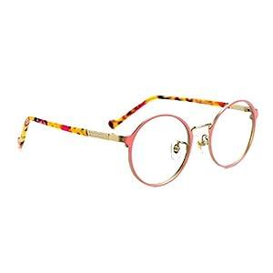 TIJN Retro Round Metal Frame Thin Optical Eyeglasses Eye Glasses