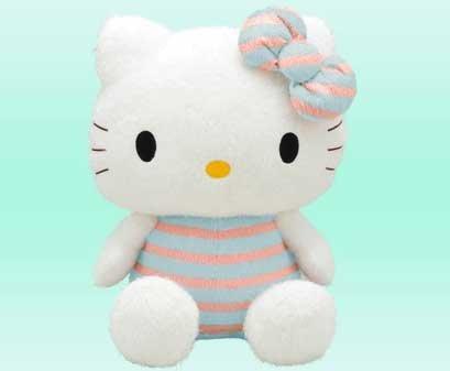 Hello Kitty Plush Toys : Cute colors choice hello kitty plush doll toy stuffed toy