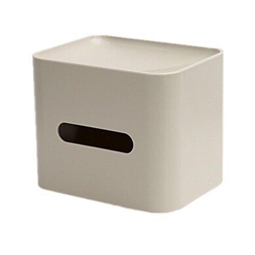 Multi-function tissue box, ABS material, multi-function creative receive, desktop, car carton. by DADE