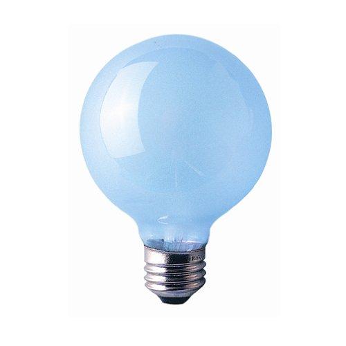 Bulbrite 40G25FR/N 40W 120V Full Spectrum True Daylight R30 Globe Bulb, Frost