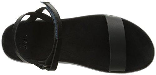 Teva Terra Nova Lux - Sandalias de vestir Mujer Negro
